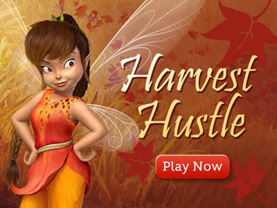 Pixie Hollow: Harvest Hustle