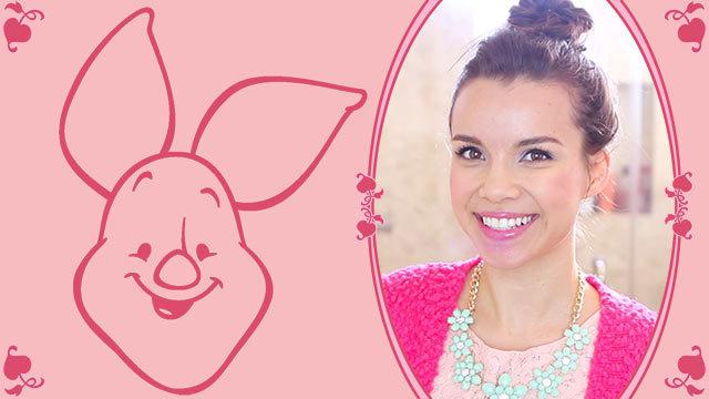 Piglet Lookbook - A Disney Exclusive by Missglamorazzi DIY
