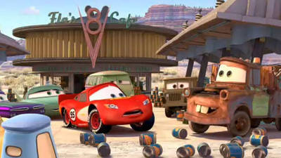 Mater the Greater - Cars Toons: Mater's Tall Tales