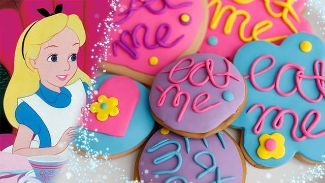 Alice in Wonderland DIY Decorative Cookies