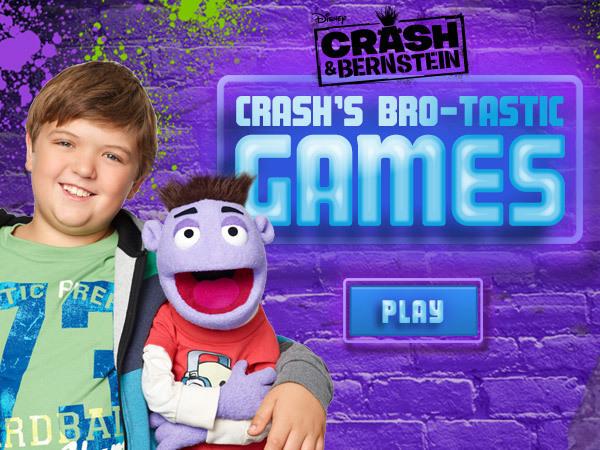 Crash and Bernstein: Brotastic Games