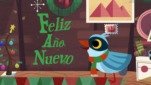 Feliz Año Nuevo - Words with Wazoh - It's a Small World Short
