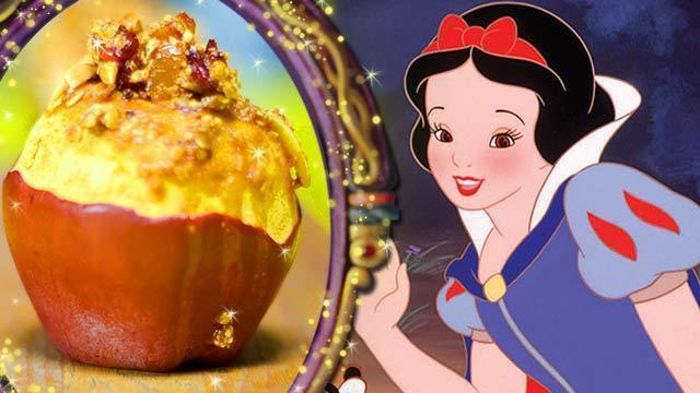 Snow White's Baked Magic Wishing Apples