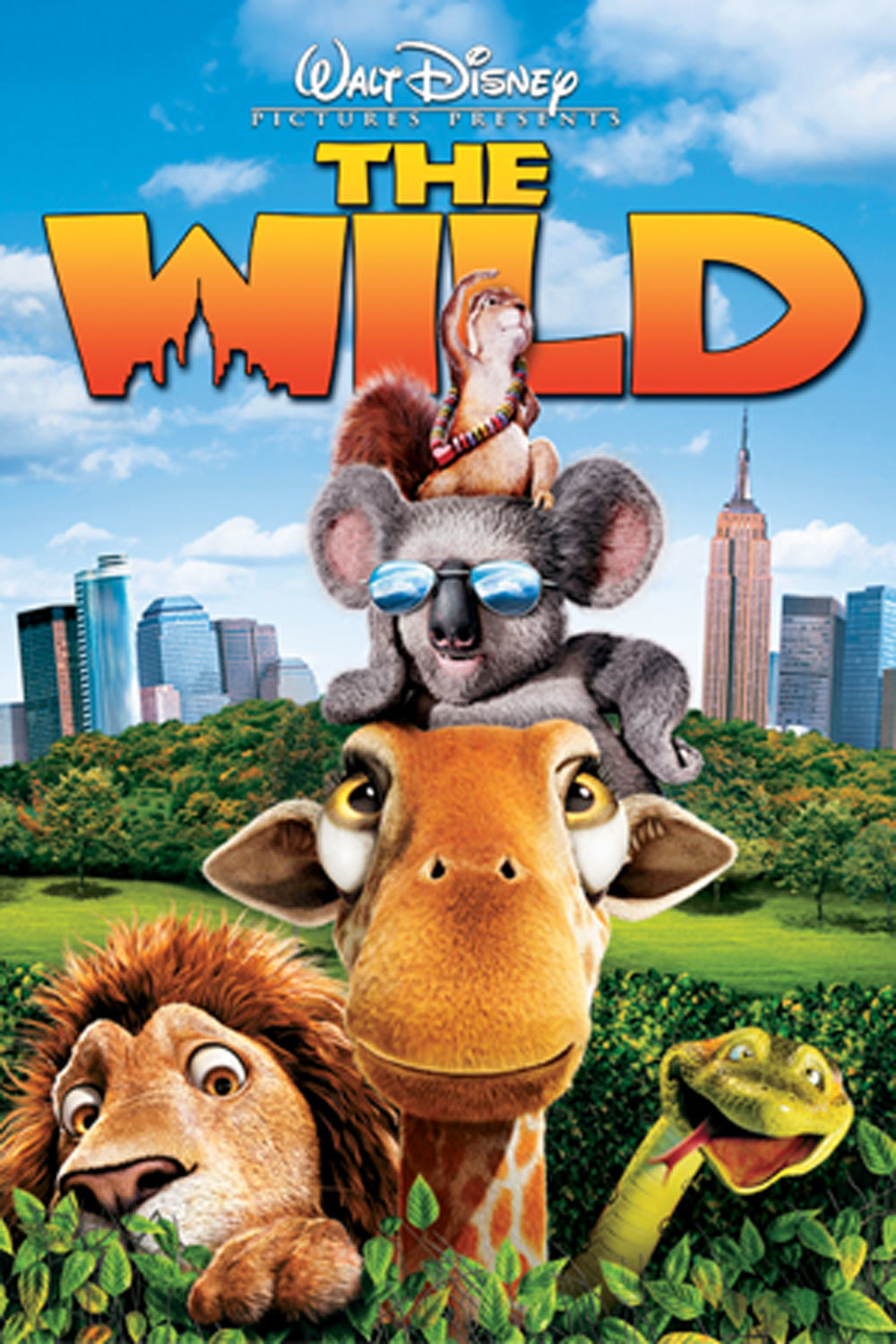 the wild disney movies