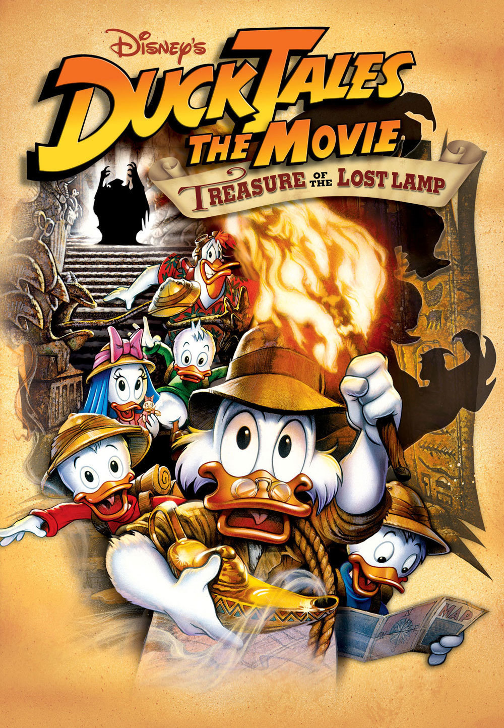 ducktales the movie treasure of the lost lamp disney