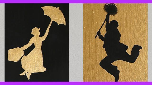 DIY Mary Poppins Inspired Wall Art - An Anneorshine Disney Exclusive
