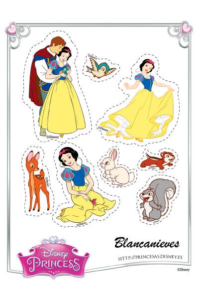Blancanieves Pegatinas