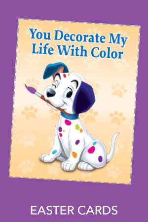 101 Dalmatians - Easter Cards