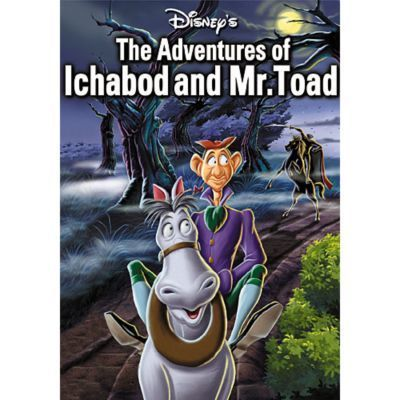 The Adventures Of Ichabod And Mr. Toad DVD Gold Collection