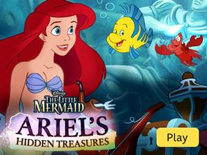 The Little Mermaid - Ariel's Hidden Treasures