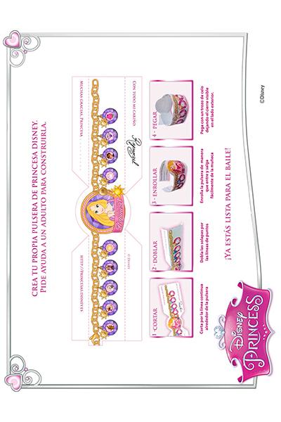 Actividades con Rapunzel - pulsera