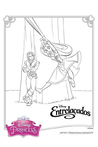 Colorir com a Rapunzel 7