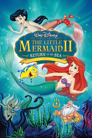 The little mermaid 2 return to the sea book