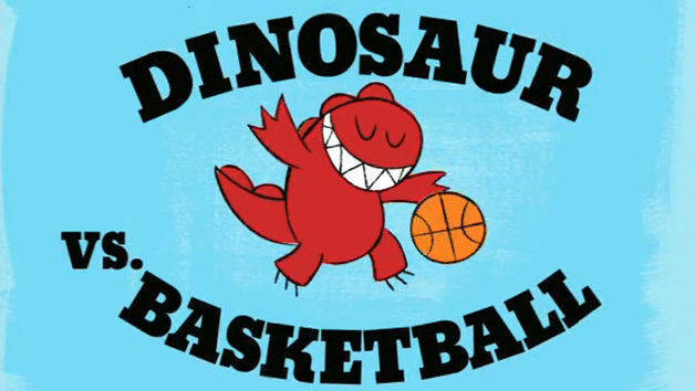 Dinosaur Vs. Basketball