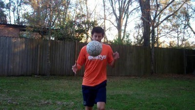 Soccer Tricks - How to Juggle a Ball with your Back