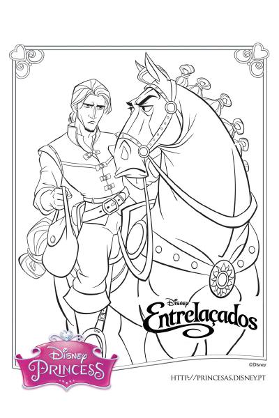 Colorir com a Rapunzel 6