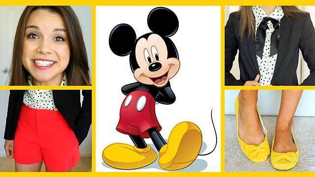 Inspired Mickey Look - A Disney Exclusive by Missglamorazzi
