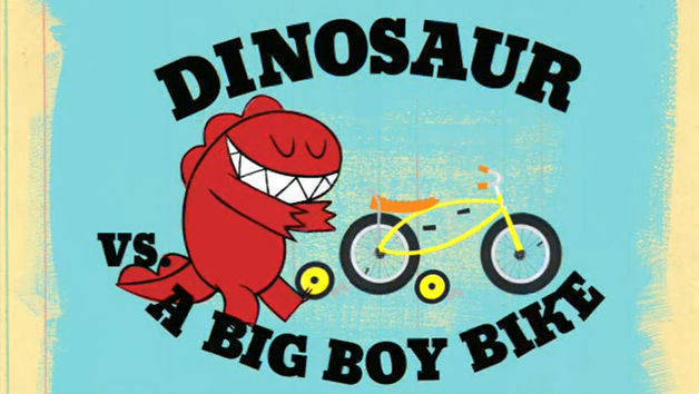 Dinosaur Vs. Riding a Bike