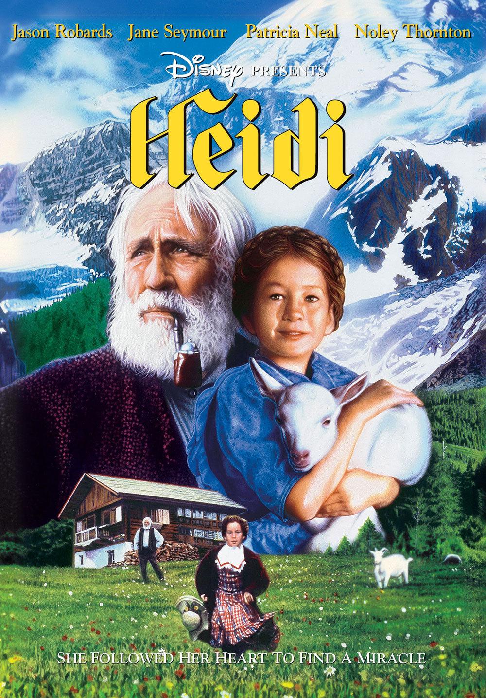 Heidi Disney Movies