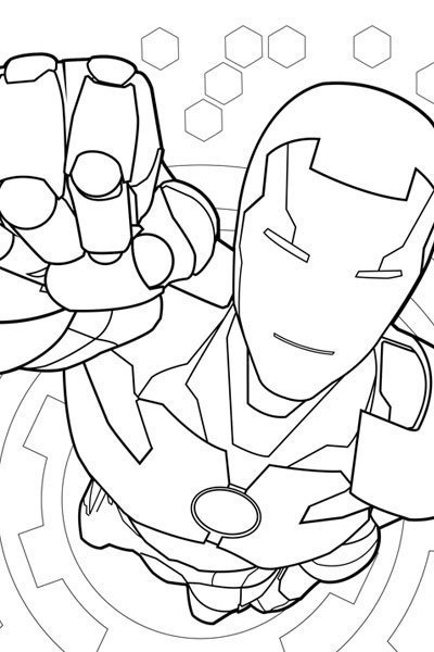 Avengers Tower Coloring Pages : Avengers earth s mightiest heroes coloring page disney