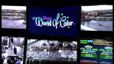 World of Color Control Room
