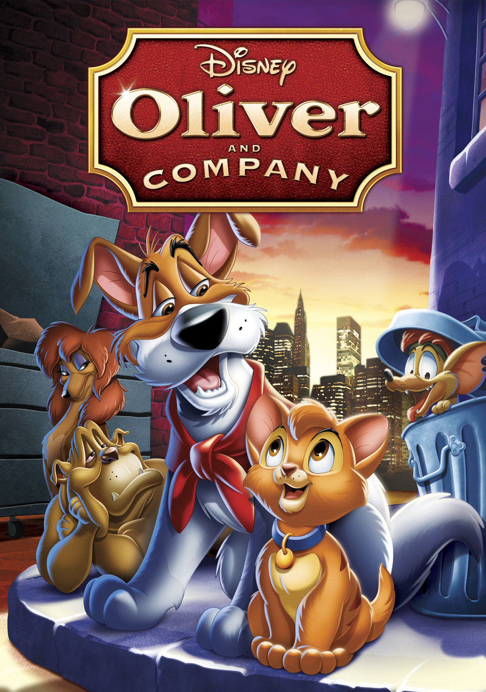 oliver and company disney movies. Black Bedroom Furniture Sets. Home Design Ideas