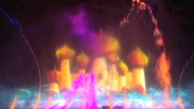 World of Color Behind the Scenes