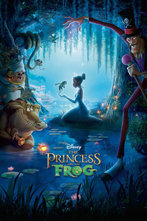 Princess and the Frog Product Page