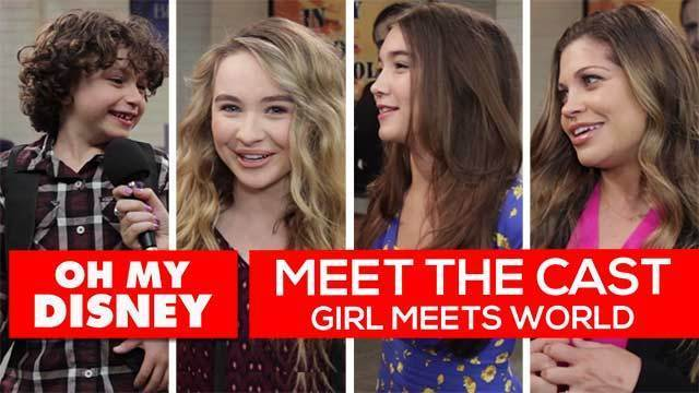 Meet the Cast of Girl Meets World - Oh My Disney