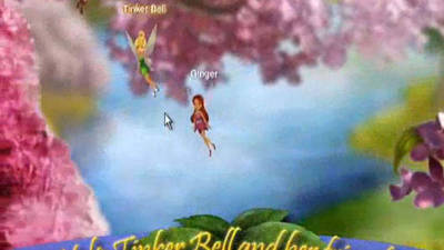 Help Tinker Bell Guide Fish
