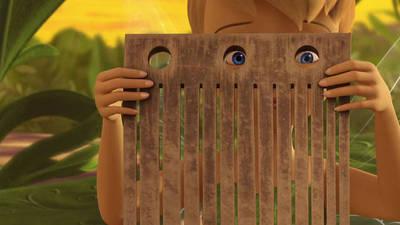 Tinker Bell Fixes a Music Box