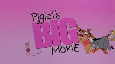 Piglet's Big Movie Trailer