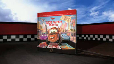 Ride with Mater Augmented Reality Book