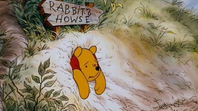 Stuck at Rabbit's House
