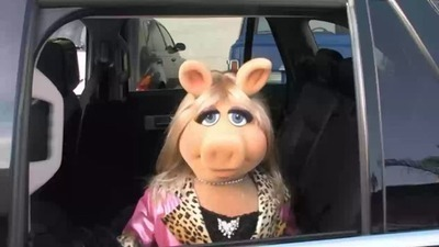 Miss Piggy @ the Drive Thru