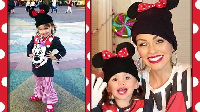 DIY Minnie Beanie and Gloves -- A Kandee Johnson Disney Exclusive