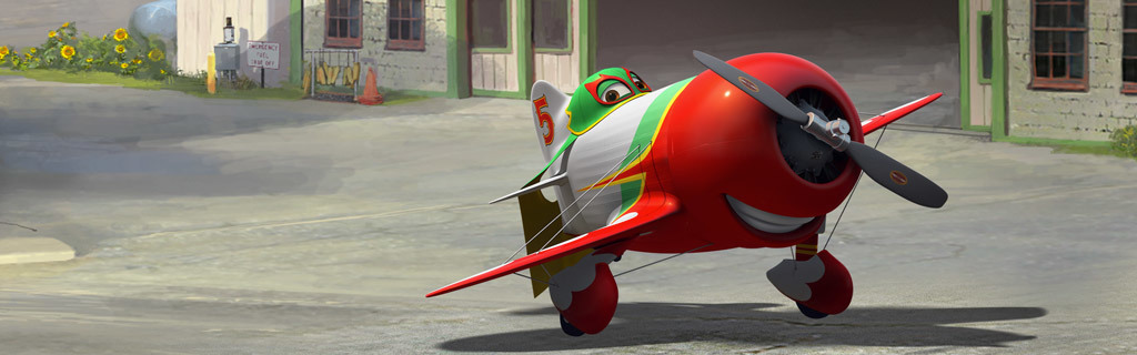 Animated Hero - Planes - El Chu
