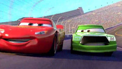 Lightning McQueen Focuses