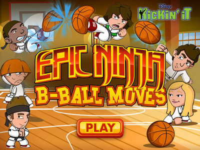 Kickin' It - Epic Ninja B-Ball Moves