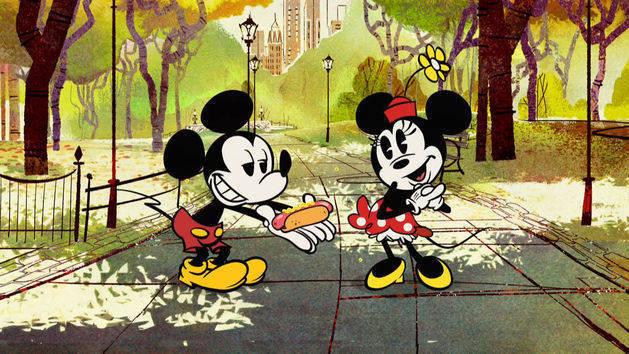 Mickey Mouse: Una salchicha en Nueva York.