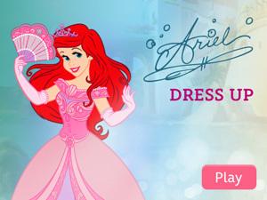 Ariel Dress Up App