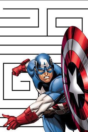 Captain America Maze