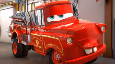 Rescue Squad Mater - Cars Toons: Mater's Tall Tales