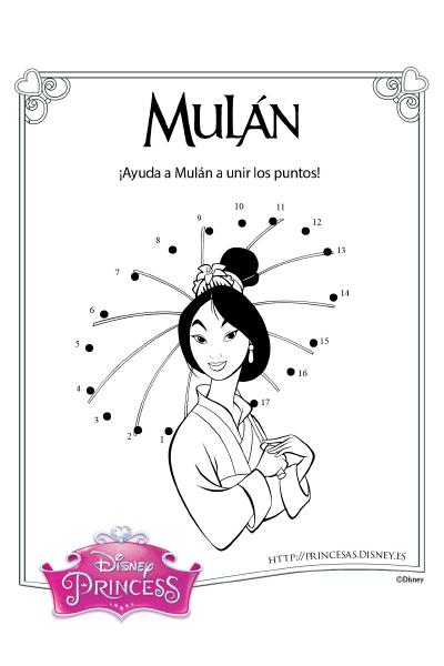 Actividades con Mulán