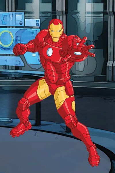 Iron Man: Spot the Difference
