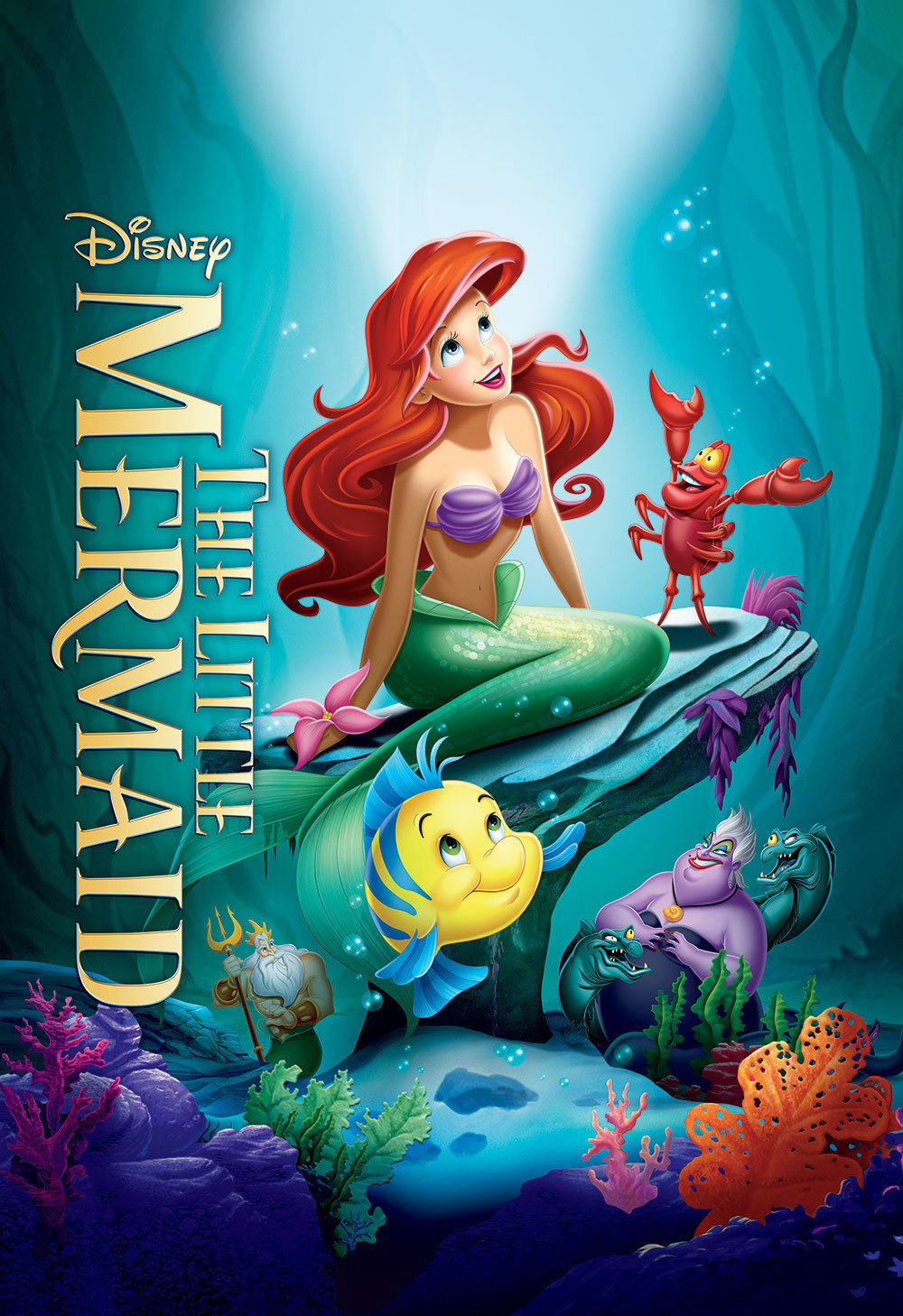 The Little Mermaid Product page