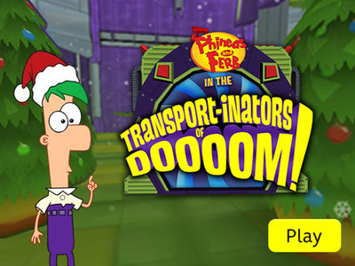 Phineas and Ferb: Transport-inators of Doom