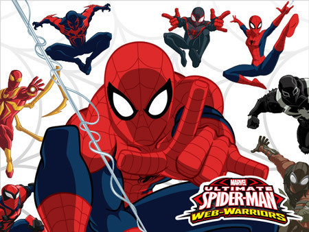 Ultimate spider man disney xd characters - photo#16