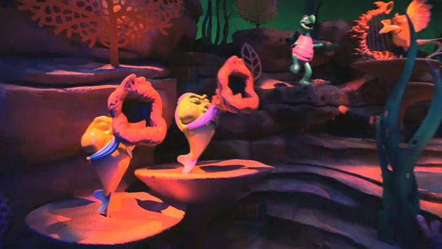 Ariel's Undersea Adventure: Walkthrough