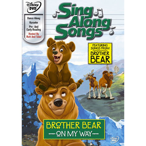 Sing Along Songs: Brother Bear On My Way DVD
